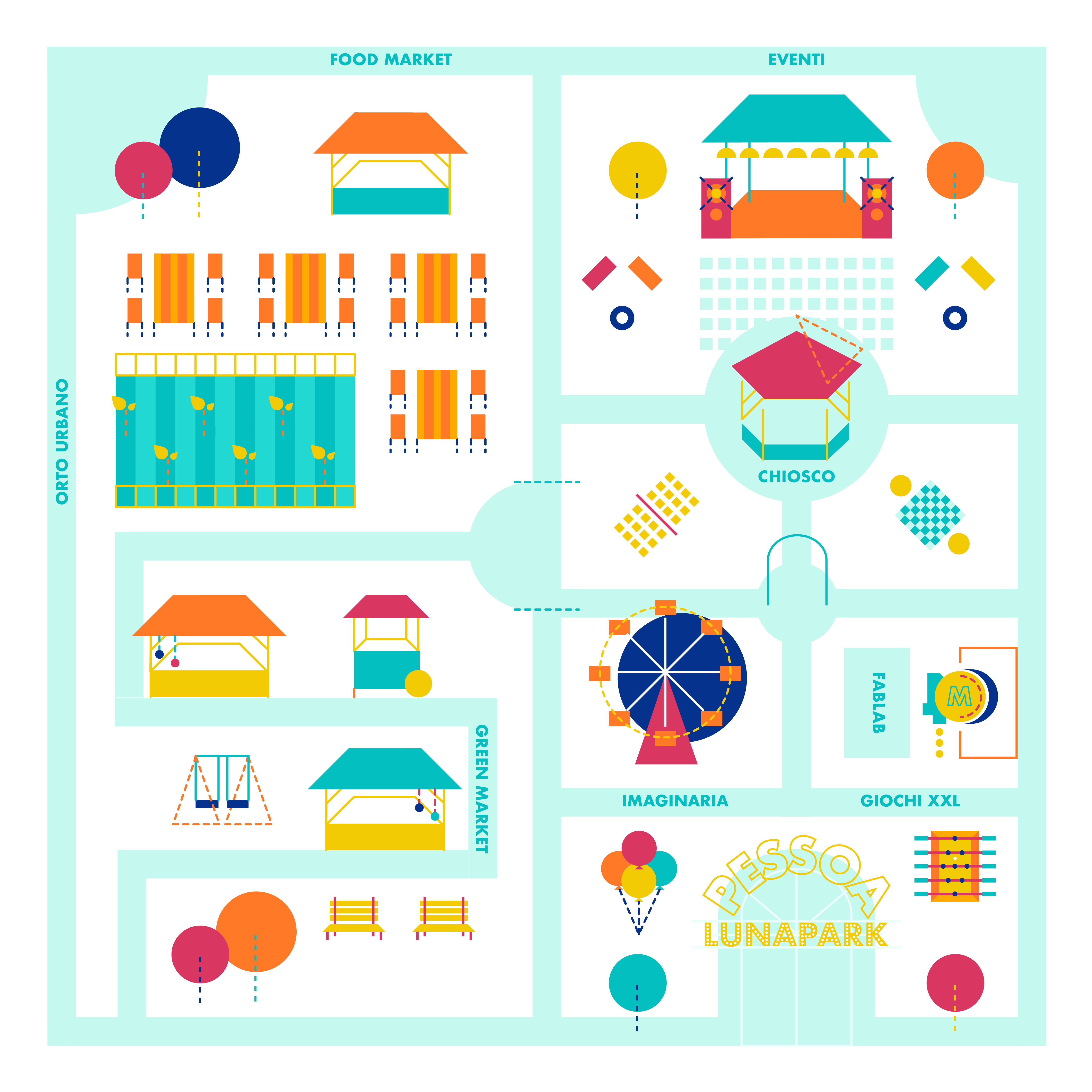 Pessoa Luna Park | Map